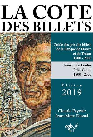 La côte des billets français 19e et 20e siècles par Collectif