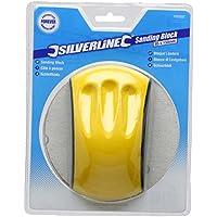 Silverline Tools 100002 Taco de Lija Ergonómico, 150 x 85 mm