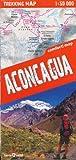 Aconcagua 1:50.000 Wanderkarte, laminiert, wasserdicht (Argentinien)