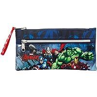 Marvel Avengers Assemble-Astuccio con cerniera, colore: blu