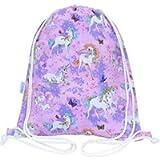 Unicorn Swim Bag Drawstring Backpack PE Bag
