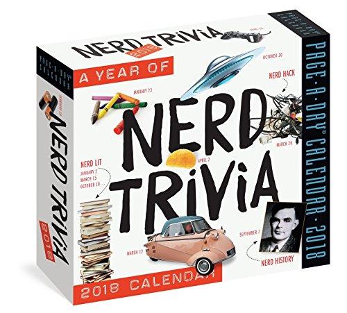 Nerd Trivia Page-A-Day Calendar 2018 [6.25 x 6.25]