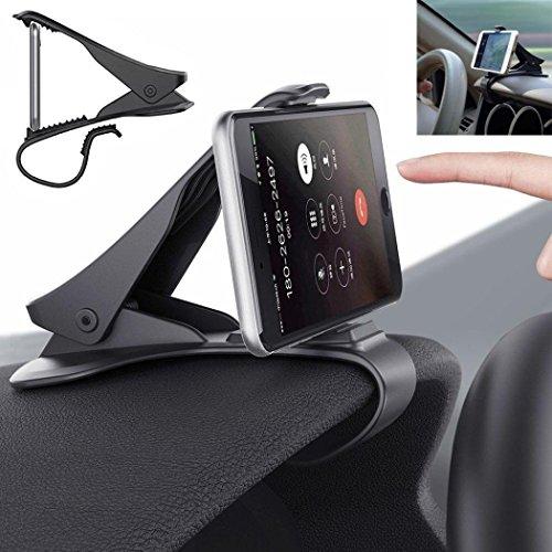 Preisvergleich Produktbild hkfv Auto Car Holder Universal Dashboard Kfz-Halterung Ständer Design Wiege für Handy GPS