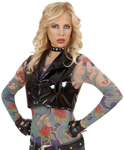 Widmann 7123a - maglietta con tatuaggi disegnati, effetto realistico