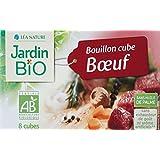 Jardin Bio Bouillon Cube Bœuf 80 g - Lot de 6