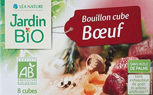 Jardin Bio Bouillon Cube Bœuf 80 g