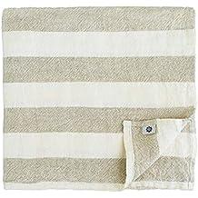 Linen & Cotton Muy Suave Toallas de Baño MARCUS de 100% Puro Lino Lavado,