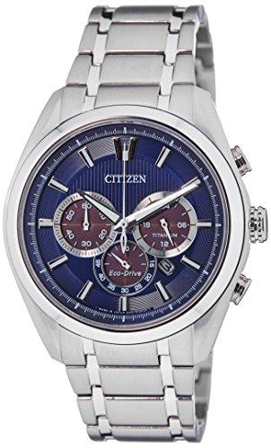 Citizen Eco-Drive Analog Blue Dial Men's Watch - CA4011-55L image