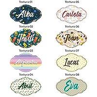 Nombres personalizados en madera • Nombre Personalizado para pared, Nombres para bebés, Regalo personalizado • 25 cm   35 cm   REPOSICIONABLE HASTA 10 VECES