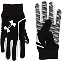 Under Armour Soccer Field Players Glove Guantes, Hombre, Negro (003), L