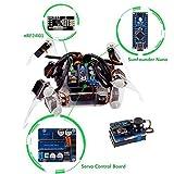 Roboterbausatz - Programmierbarer Roboter Crawling Quadruped