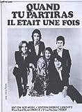 Telecharger Livres QUAND TU PARTIRAS PIANO CHANT (PDF,EPUB,MOBI) gratuits en Francaise