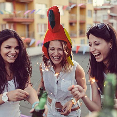 Vogel Kostüm Kopfbedeckung - juman634 Papagei Hüte Vogel Kopfbedeckung Kostüm
