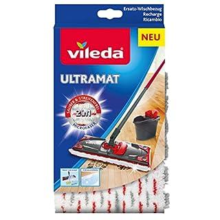 Vileda UltraMat 2in1-Microfaser-Bezug, für streifenfreie und glänzende Böden
