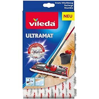 Vileda EasyWring UltraMat Komplett-Set, Bodenwischer und Eimer mit ...