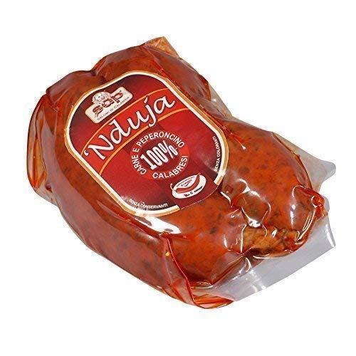 Nduja Spicy Spreadable Salami, +/- 500g