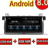 ROADYAKO 8,8 Zoll Android 8,0 Auto Auido für BMW E46 / M3 1998 1999 2000 2001 2002 2003 2004 2005 2005 Auto Radio Stereo GPS Navi WIFI 3G RDS Spiegel Link
