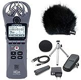 Zoom H1n Kit d'accessoires pour téléphone portable + protection anti-vent APH1n gris