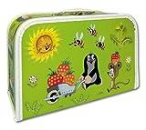 Krtek - der kleine Maulwurf - Koffer 35 cm - Puppenkoffer Kinderkoffer in hellgrün