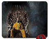 B Abstrakt Weiß Breaking Bad Serie Drama Bryan Cranston Entertainment Eisen Thron Thrones Thriller Spiel showmouse Pad Computer Mauspad