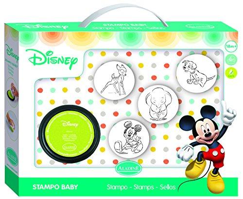 ALADINE 3061002 Freunde Stampo Baby Micky Maus, Stempelset