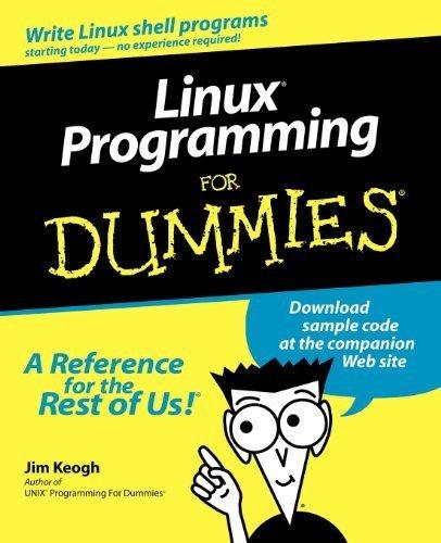 Linux Programming For Dummies 1st edition by Keogh, Jim (2000) Paperback par Jim Keogh