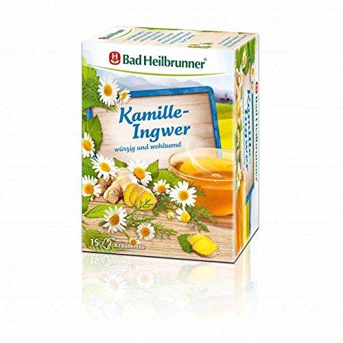 BAD HEILBRUNNER Kamille-Ingwer Tee Filterbeutel 15 St Filterbeutel