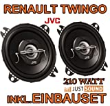 Renault Twingo 1 Facelift - Lautsprecher - JVC CS-J420-10cm Koaxe