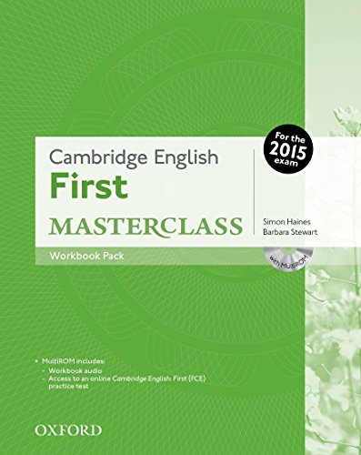 Cambridge English: First Masterclass: Cambridge English First Certificate Masterclass. Workbook without Key Exam Pack 2015 Edition