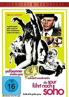 Die Spur führt nach Soho (The File Of The Golden Goose) - Thriller mit Yul Brunner (Pidax Film-Klassiker)