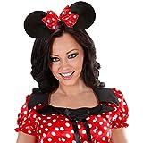 Diadema de orejas de ratón Minnie mouse pequeñas traje tocado