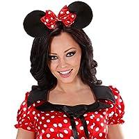 Orecchie topolino cerchietto Micky Mouse fascia Minnie copricapo fascia  topolina addio al nubilato Carnevale 76ec596759ee
