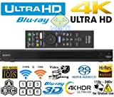 #2: Sony UBP-X800 4K ULTRA HD 3D WiFi [Region Free / Multi Zone] Blu-ray Disc Player - 120/220 Dual Voltage Compatible - Dual HDMI - PAL/NTSC 50/60 Hz - Hardware Mod - Imported from USA - In Stock - Dispatched from New Delhi next Business Day
