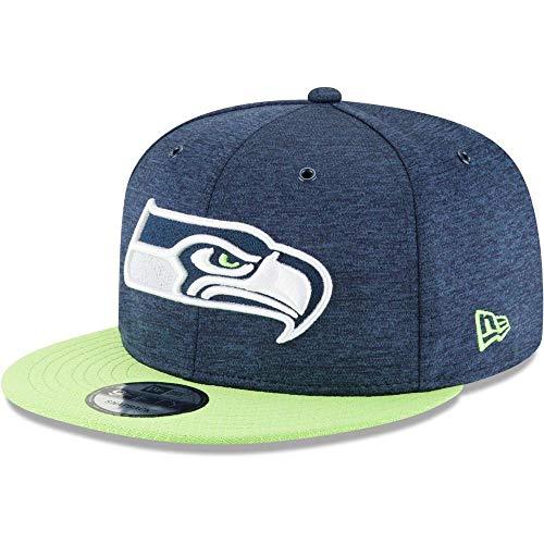 New Era ONF18 9Fifty Snapback Cap Seattle Seahawks Dunkelblau, Size:S/M -