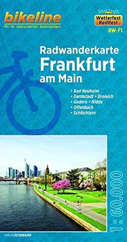 Frankfurt am Main Cycling Tour Map 2013