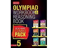 Class 5: Work Book & Reasoning Book Combo for NSO-IMO-IEO-NCO-IGKO (2018-19)