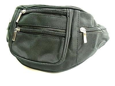 haute qualité léger noir Sac Banane Ceinture portefeuille porte-feuille Voyage Porte-monnaie vacances poche sac