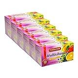 Teekanne Multivitamin mit 10 Vitaminen 6er Pack