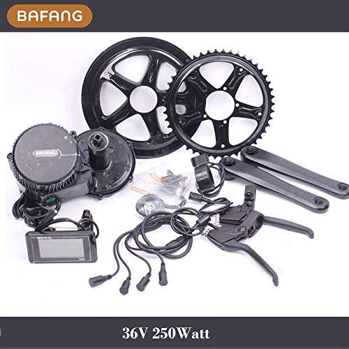 Bafang Mittelmotor BBS01 36V 250Watt E Bike Umbausatz 68mm 46T E-Bike TOP C961