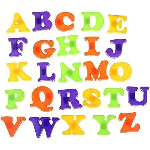 Ularma Lindo Moda nevera imán bebé niño juguete A la Z alfabeto educativo 26 letras