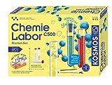KOSMOS C500 - Chemielabor, Starter-Set, Laboraustattung für Einsteiger, Chemie für Kinder ab 9 Jahre,Einsteigerlehrgang, Experimentierkasten