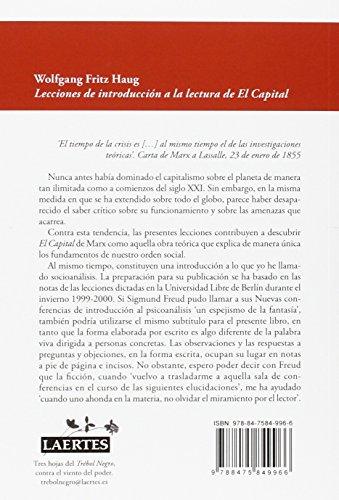 Lecciones de Introducción, Lectura El Capital (Trebol Negro) leer libros online gratis en español