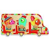 Puzzle Bus ras Djeco