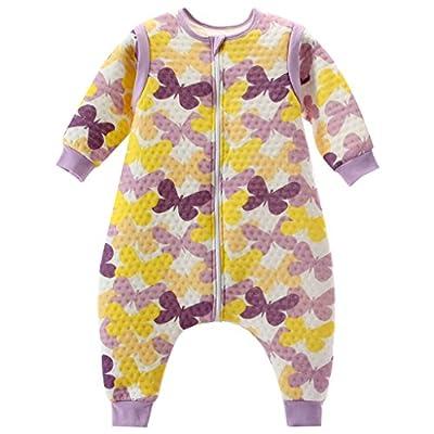 Vine Bebé Saco de dormir Con los pies Mangas desmontables