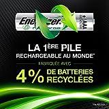 PilesAAA rechargeables Energizer Recharge PowerPlus, pack de 4