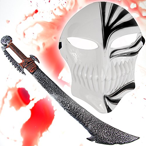 l - Bleach Maske black + Ork Schwert ()