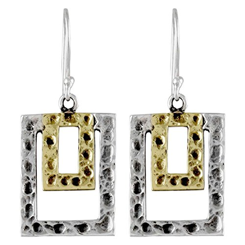 Plain Brass Dangle Earring Solid 925 Sterling Silver Latest Jewelry  available at amazon for Rs.842