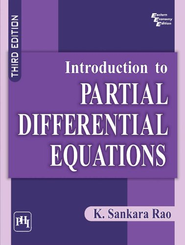 Sankara Rao Partial Differential Equations Pdf
