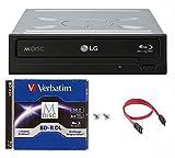 LG 16x WH16NS40 Internal Blu-ray Burner Bundle with 50GB Verbatim M-Disc BD-R DL