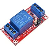 Demarkt mit Optokoppler 1-Kanal Relaismodul 12V Expansion Board Hohe und niedrige Trigger optionales Modul